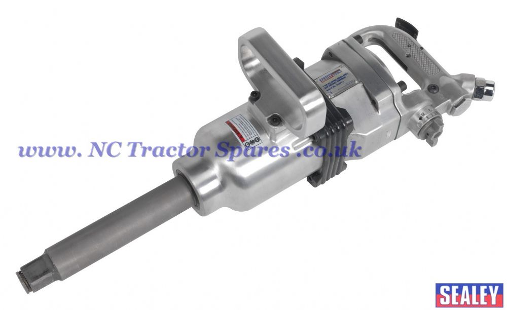 "Air Impact Wrench 1""Sq Drive Straight Long Anvil."